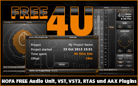 HOFA-Plugins 4U Freeware